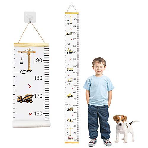 Heqishun Messlatte Kinder für Kinderziemmer Dekoration Kinder Höhenmesser Kindergarten Kinder Messlatte...