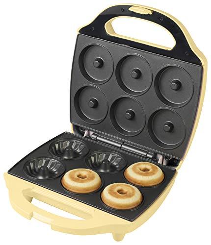 Bestron Gugelhupf Maker, Waffeleisen für 6 Gugelhupf, Sweet Dreams, Antihaftbeschichtung, 900 Watt, Farbe:...