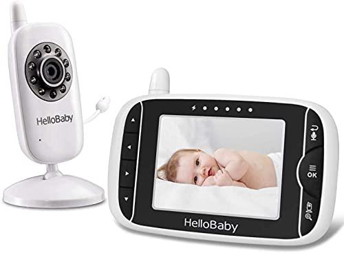 Video Babyphone mit Kamera und Audio, Halten...