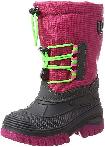 CMP Campagnolo Unisex-Kinder Ahto WP Trekking-& Wanderstiefel, Pink (Pink Fluo), 30 EU