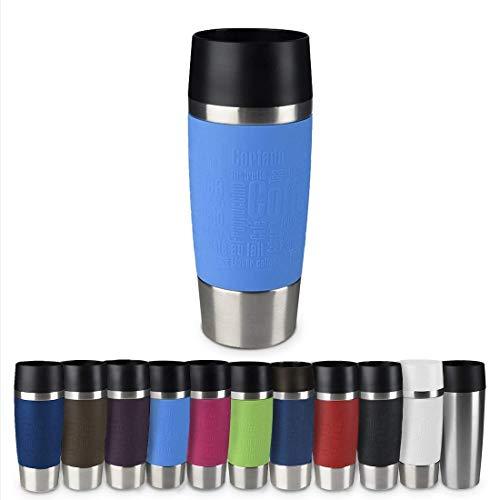 Emsa 513552 Travel Mug Thermo-/Isolierbecher, Fassungsvermögen: 360 ml, hält 4h heiß/ 8h kalt, 100% dicht,...