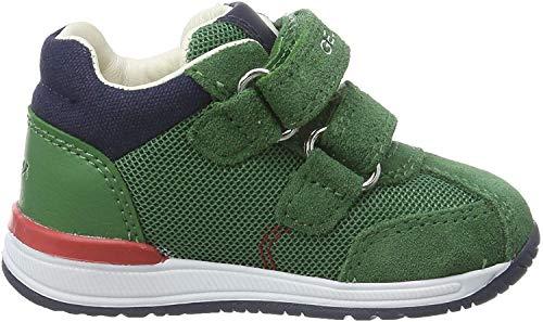 Geox Baby Jungen B RISHON Boy B Sneaker, Grün (Green C3000), 21 EU
