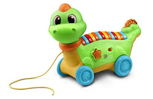 LeapFrog Lettersaurus Interaktives Baby-Spielzeug, musikalisches Baby-Spielzeug mit Geräuschen, Buchstaben...