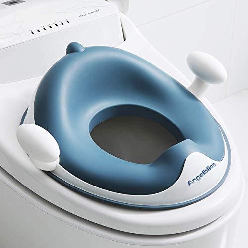 Angelbliss WC Sitz Kinder, Baby Potty Training Toilettentrainer,Toilettensitz kinder für Jungen und Mädchen...