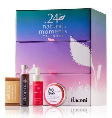 Flaconi Adventskalender 2020 Beauty Natural Moments für Frauen, Wert 300€ idealer Adventskalender für die...