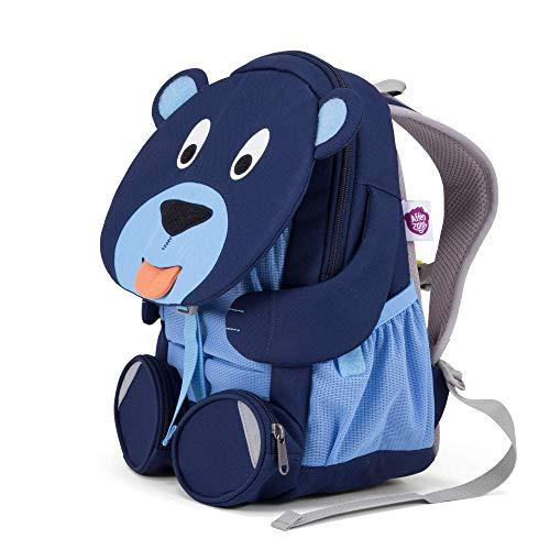 Affenzahn Kinderrucksack für 3-5 Jährige im Kindergarten - Bela Bär - Blau