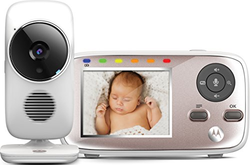 Motorola Baby MBP 667 Connect , WLAN Video Babyphone , Baby-Überwachungskamera mit 2.8' Farbdisplay , 300...