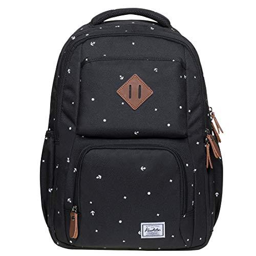 KAUKKO Studenten Backpack für Mädchen Jungen & Kinder Schulrucksack für 12 Zoll Laptop, 30 * 15 * 42 cm,...