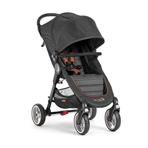 Baby Jogger City Mini 4 Décimo Jubiläum BJ2051657 mit Stange vorne und Quick-Fold Einhand-Faltensystem