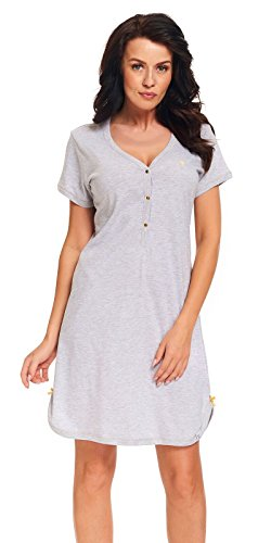DN, Nachthemd, TM.9301, Grey-Melange, Gr. XL