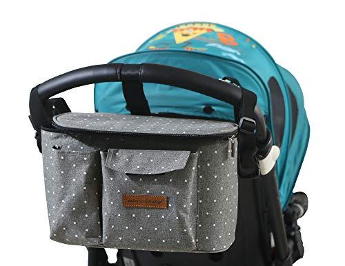 Buggy Kinderwagen Organizer Kinderwagentasche Wickeltasche Wickelrucksäcke Baby Universale Multifunktionale...
