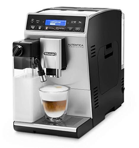 De'Longhi Autentica Cappuccino ETAM 29.660.SB Kaffeevollautomat mit Milchsystem, Cappuccino und Espresso auf...
