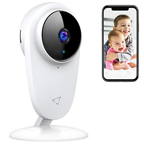 Victure 1080P Babyphone mit Kamera, Baby Monitor 2.4G WLAN Kamera Überwachungskamera Bewegungserkennung mit...