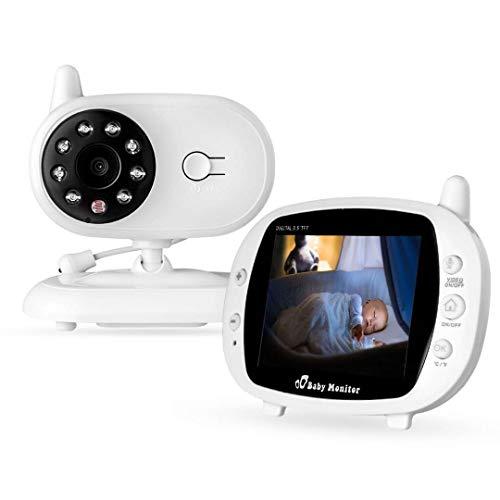 ZLMI Babypflege Gerät Wireless Infrarot Nachtsicht Monitor Nachtsicht Temperaturüberwachung und...