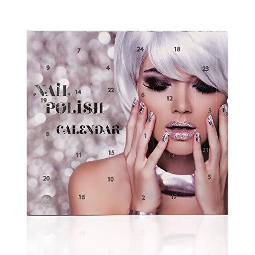 Beauty-Adventskalender Nagellack, 24 top Farben im Nagellack Adventskalender metallic effect Nagellack, nude,...