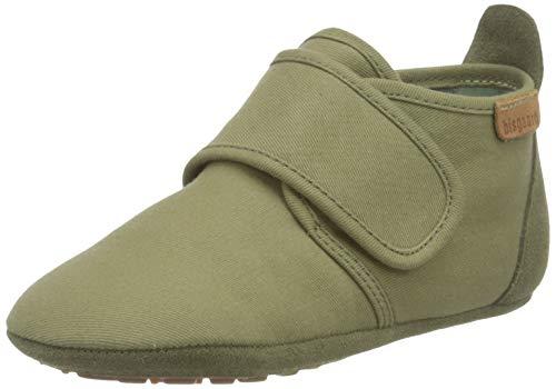 Bisgaard Jungen Unisex Kinder Baby Cotton First Walker Shoe, Green, 20 EU