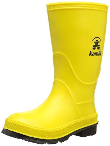 Kamik Unisex-Jungen Stomp Gummistiefel, Gelb (Yellow Yek), 37 EU