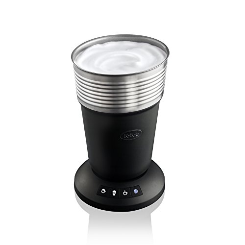 K-fee Milchaufschäumer Lattaero / 4 Funktionen für kalten oder heißen Milchschaum sowie heiße Milch /...