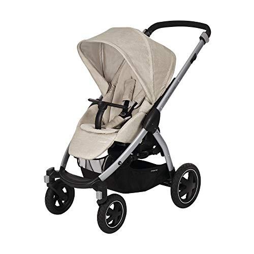 0-15 kg geeignet ab der Geburt Maxi-Cosi Adorra Baby Kinderwagen Essential Graphit bequemer und leichter Kinderwagen mit riesigem Einkaufskorb 3,5 Jahre 0 Monate