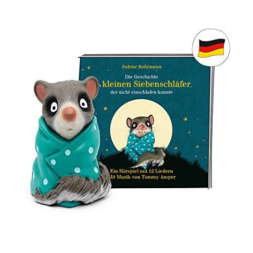 tonies Hörfigur für Toniebox, Die Geschichte vom kleinen Siebenschläfer, Gute-Nacht-Geschichte und 12...