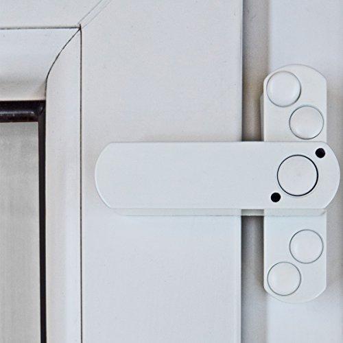 10 x Bever Stuco Safe Fenstersicherung, 1-flügelig, weiß, 20SW