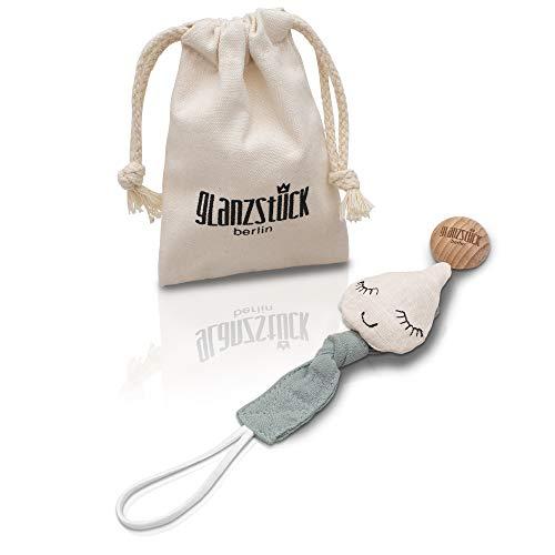 Glanzstück Berlin® Kids Collection: DAS ORIGINAL - Schnullerkette/Schnullerband/Nuckelkette aus...
