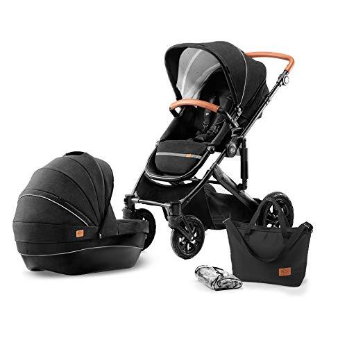 Kinderkraft Kinderwagen 2 in 1 PRIME , Kinderwagenset, Kombikinderwagen, Sportwagen, Buggy und Tragewanne,...