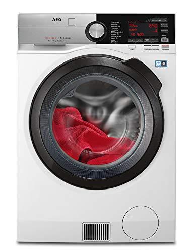 AEG L9WE86695 Waschtrockner mit Wärmepumpe / SensiDry – schonend und energiesparend / 9,0 kg Waschen / 6,0...
