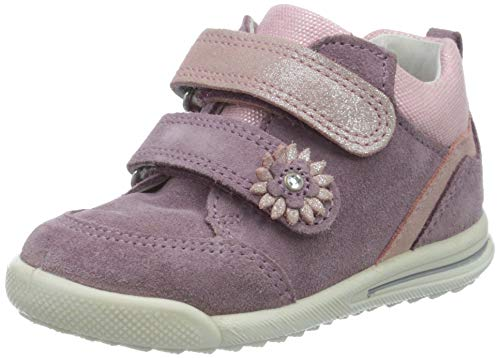 Superfit Baby Mädchen Avrile Mini Sneaker, Violett (Lila/Rosa 90), 26 EU
