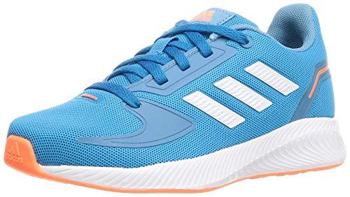 adidas Runfalcon 2.0 Running Shoe, Solar Blue/Cloud White/Hazy Blue, 36 EU