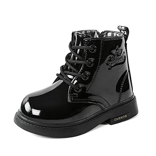Mädchen Ankle Boot Junge Stiefel Kleinkind Schnürstiefeletten Schneestiefel Winterhalbstiefel Schneeschuh...