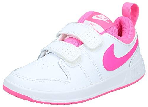 Nike Pico 5 (PSV) Sneaker, Weiß (White/Pink Blast 102), 32 EU