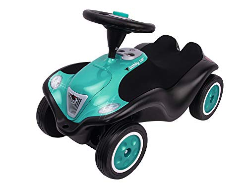 BIG-Bobby-Car Next - Deluxe Variante, Kinderfahrzeug mit LED-Front Scheinwerfer, Flüsterreifen und weichem...