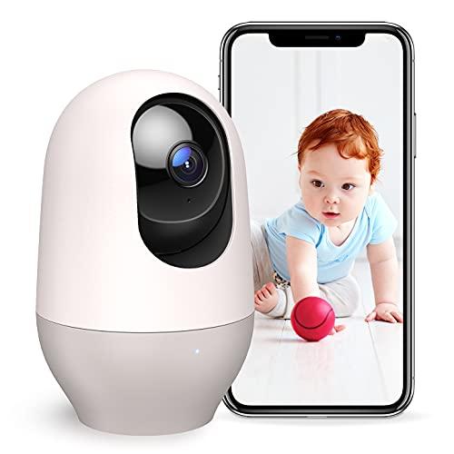 Nooie Babyphone mit Kamera, Haustier WLAN IP Überwachungskamera innen 1080P Kamera, Bewegungs- und...