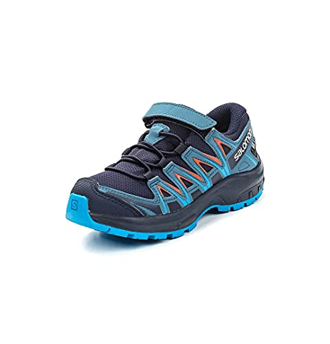 Salomon Unisex-Kinder Xa Pro 3d Cswp K Traillaufschuhe, Blau (Navy Blazer/Mallard Blue/Hawaiian S),29 EU