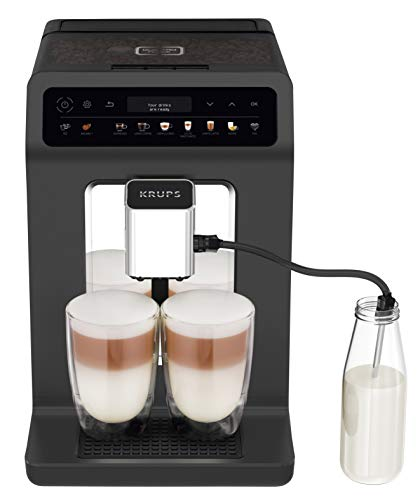 Krups EA895N Kaffeevollautomat Evidence One | One-Touch-Cappuccino | Doppel-Tassen-Funktion | 12...