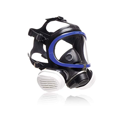 Dräger X-plore 5500 Vollmasken-Set inkl. A2P3 Kombi-Filter | Universalgröße | Atemschutz-Maske für Maler &...