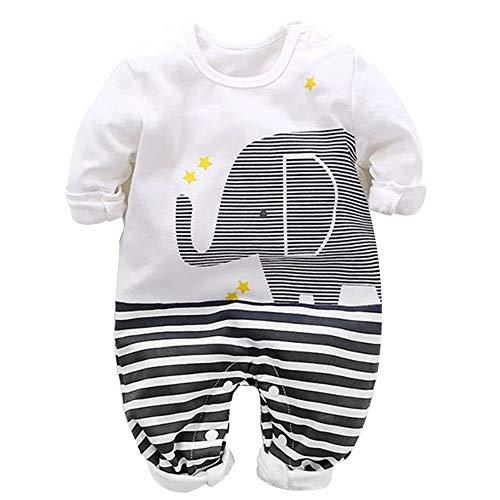 Fairy Baby Baby-Jungen Spieler, Babykleidung aus Bio-Baumwolle Baby Strampler Jungen Mädchen als Polo-Shirt...