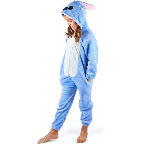 Maybear Onesie Pyjama Anzug Koala für Kinder | Tierkostüm weich, warm | Cosplay Onesie |...