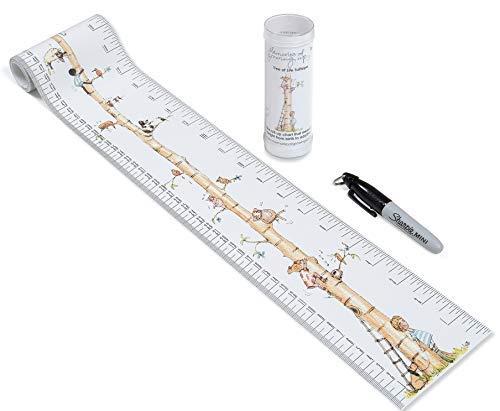 Talltape (Baum) - Tragbare, Roll-up Messlatte Plus 1 Sharpie Mini Marker Pen, um Kinder von der Geburt bis zum...