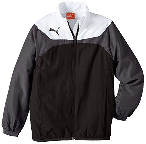 PUMA Kinder Jacke Esito 3 Leisure Jacket, Black/White, 128