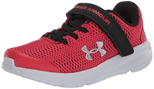 Under Armour Unisex-Kinder Pre School Pursuit 2 Ac Laufschuhe , Rot (Versa Red Black Metallic Silver) , 34 EU