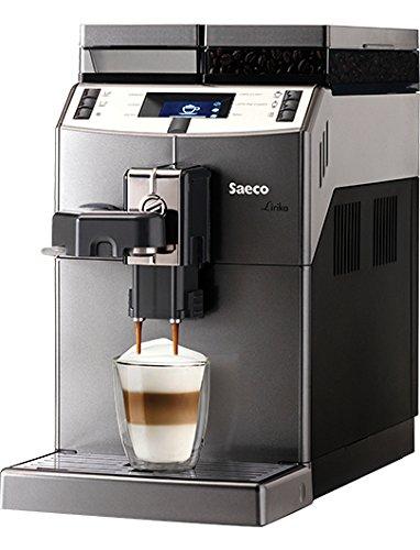 Saeco 10004768 Kaffeevollautomat, Edelstahl, 2 liters, Schwarz