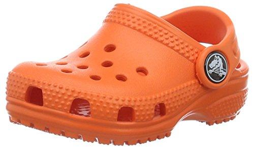 crocs Unisex-Kinder Classic Kids Clogs, Orange (Tangerine), 29/30 EU