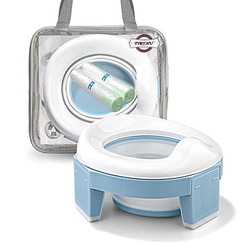 Toilettensitz kinder,Töpfchen Training Sitze,Reisetöpfchen, Töpfchen Unterwegs Potty Training Seat Baby...