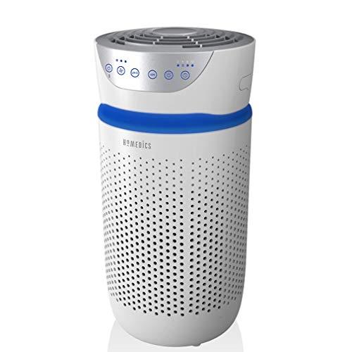 HoMedics Luftreiniger 76m² Air Purifier mit 3-in-1 HEPA-Filter und 3 Stufen - Luftfilter mit 99.97%...