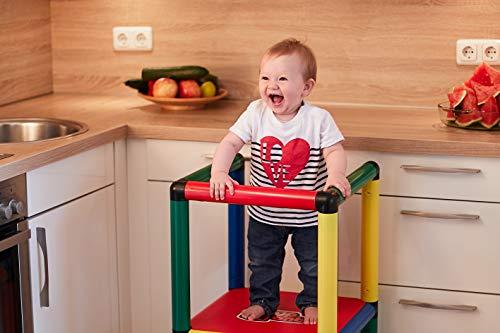 Quadro | Beginner | Klettergerüst und Lernturm für drinnen und draußen | Fördert Entwicklung von Kindern |...
