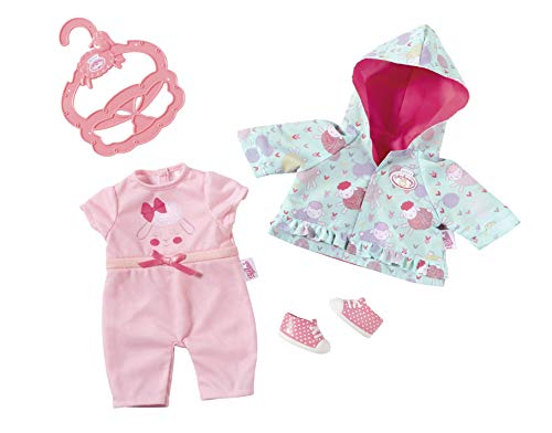 Baby Annabell 701850 Kleines Spieloutfit 36cm, rosa, Mint