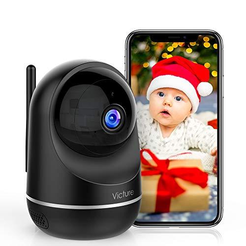 Victure Dualband 2,4Ghz und 5Ghz WLAN Kamera,Baby Kamera,1080P Überwachungskamera WLAN,Babyphone mit Kamera,...
