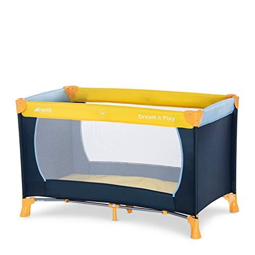 Hauck Kinderreisebett Dream N Play / inklusive Einlageboden und Tasche / 120 x 60cm / ab Geburt / tragbar und...